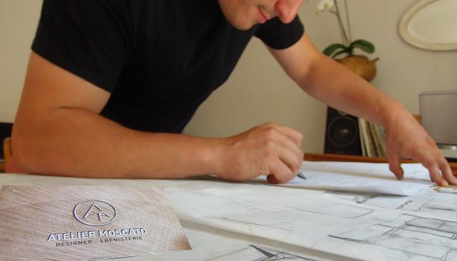 Portrait d'Adrien Moscato – Atelier Moscato : Menuiserie et ébénisterie
